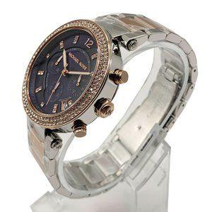 Sale! Michael Kors 39mm Two Tone Blue Watch